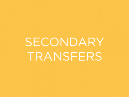 Secondary Transfers